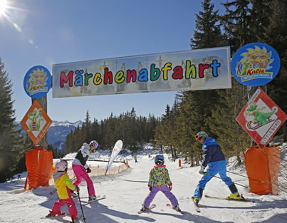 Familienpiste am Märchenwiesenlift in Ramsau